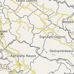 Dmanisi Georgia Map.Dmanisi District