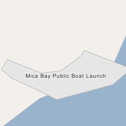 Mica Bay Public Boat Launch
