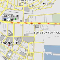 Olongapo Philippines Map.East Tapinac Olongapo
