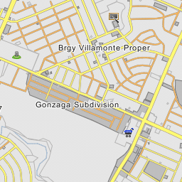 Greensville Bacolod City Negros Occidental - Bacolod map